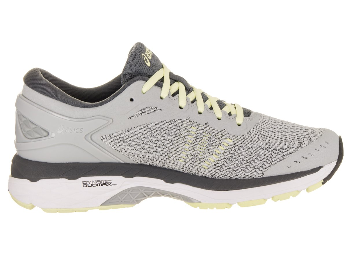 ASICS Women's Gel-Kayano 24 Running Shoe B071F877M9 12 B(M) US|Glacier Grey/White/Carbon