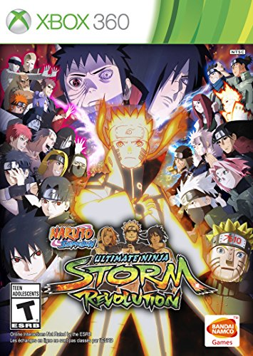 Naruto Shippuden: Ultimate Ninja Storm Revolution - Xbox 360 (Xbox Jeux)