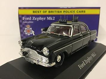 Atlas Editions Best Of British Police Black Ford Zephyr Mk2