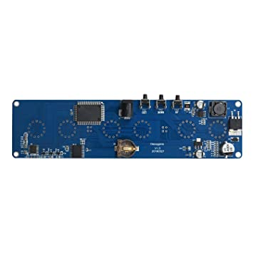 TOOGOO DIY in14 in4 Tubo Nixie regalo reloj LED digital kit placa de circuito PCBA, sin tubos: Amazon.es: Electrónica