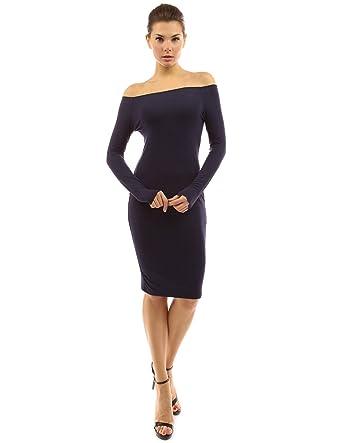Long navy blue dress uk