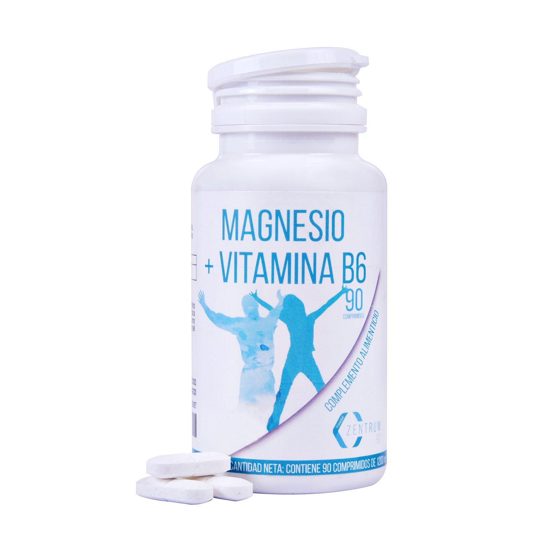 Magnesio y vitamina B6 para reducir el cansancio y la fatiga ...