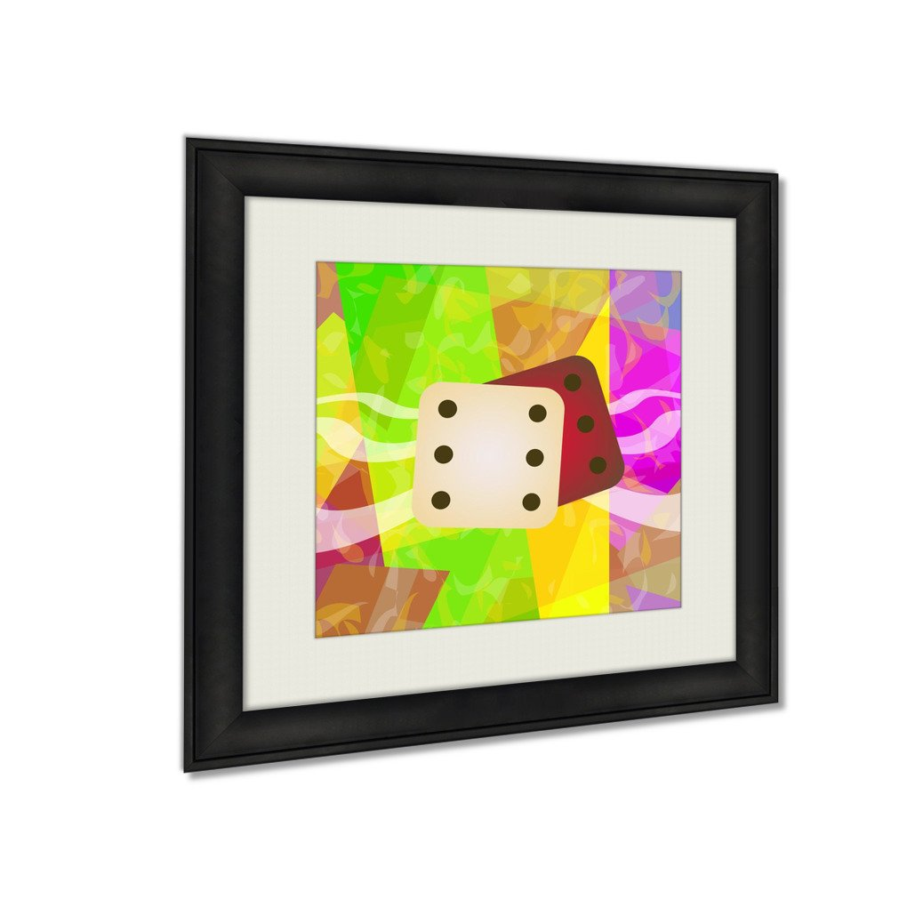 Ashley Framed Prints Dice, Wall Art Home Decor, Color, 30x30 (frame size), AG5794297