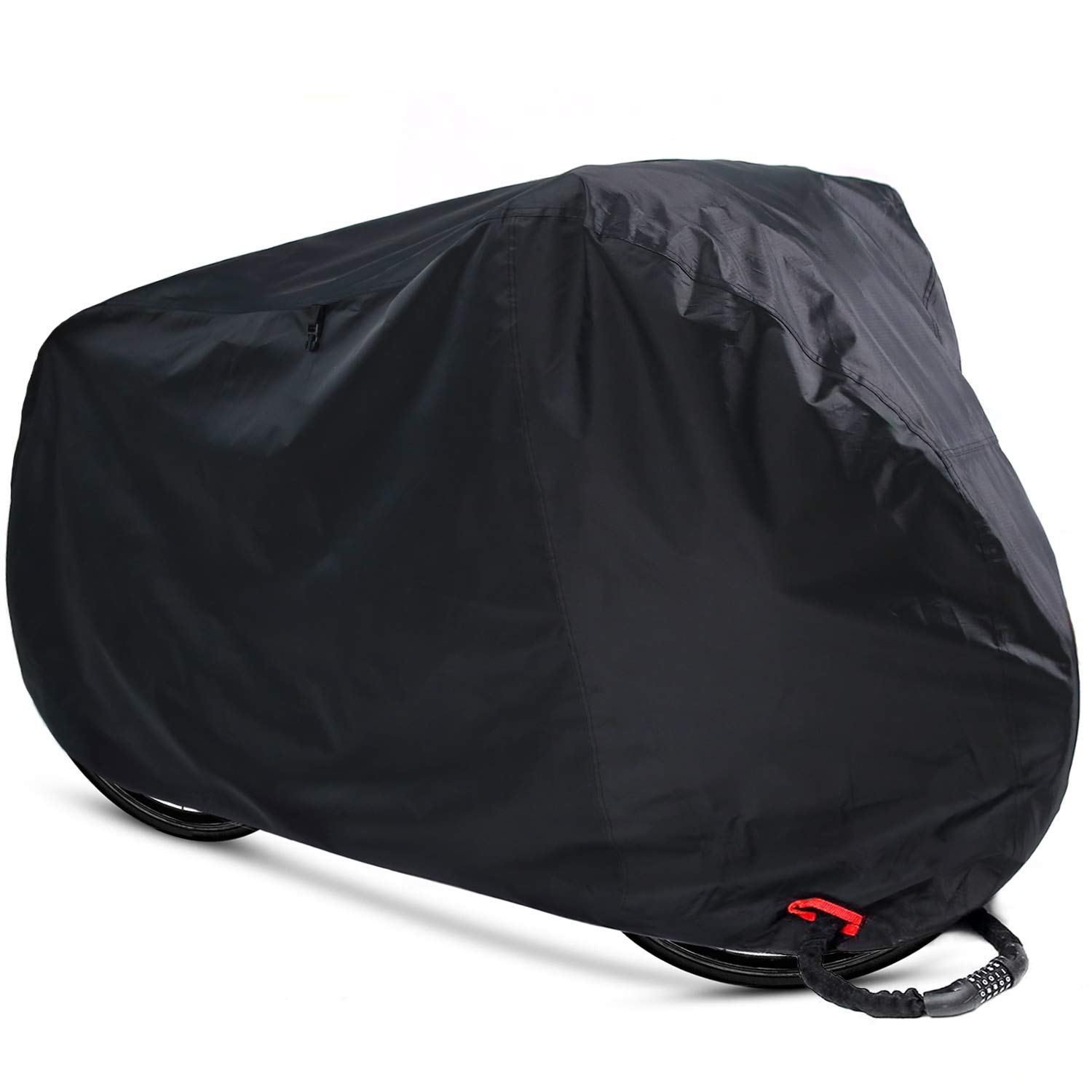 Ohuhu Bike Cover Waterproof Outdoor Bicycle Storage Covers All Weather Resistance, Ripstop Oxford Fabric for Mountain and Road Bikes