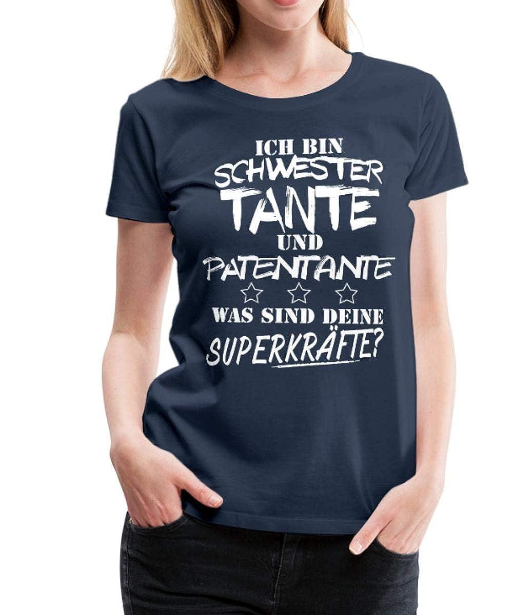 Niemand Ist Perfekt Als Tante Nah Dran Frauen T-Shirt von Spreadshirt®