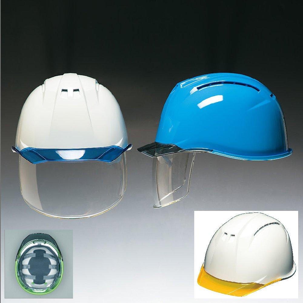高品質 安全ヘルメット[DIC HELMET]安全ヘルメット(AP11-CSW)白×蛍光オレンジ  B009ELS0BC