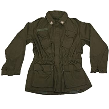0fecdc7660d3a Fratelliditalia Chaqueta de Combate Chaqueta Militar Soldado años 80  Ejército Italiano