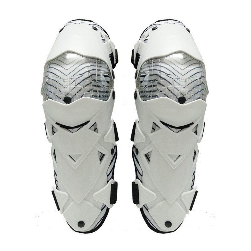 geritunusオートバイ膝パッド大人用通気性調節可能なAramid FiberモトクロスMTB Shin Guards for Riding Cyclingスケート B07DGRQNSS