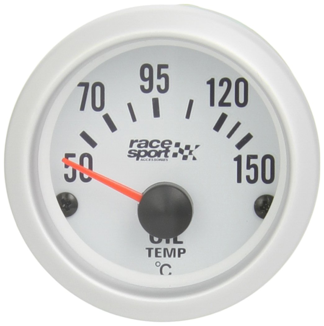 Sumex Gaug528 Race Sport - Manometro Temperatura Olio Race Sport, 5 mm , 12V