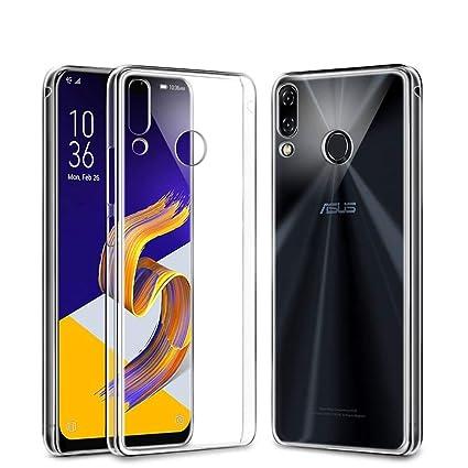 Funda Asus ZenFone 5 ZE620KL Funda protectora transparente,COOKAR Ultra delgada de silicona para la carcasa del Asus ZenFone 5 ZE620KL. Funda de ...