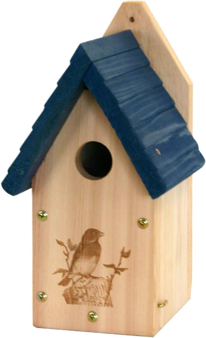 Woodlink Wooden Garden Bluebird House