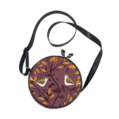 Amazon.com: Bolsas de hombro con diseño de flores de pájaros ...