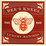 Bees Knees Box of Large Superior Safety Matches by Archivist