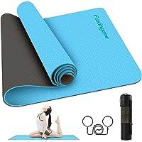 Tapete para Yoga de 6 mm de Grosor, acolchado ultra denso para apoyo y estabilidad en yoga, pilates, gimnasio y…