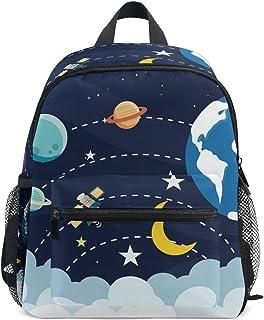 ISAORA Cute Kids Backpack, Mini Sac d'école, Kindergarten préscolaire Toddler Bookbag, Motif Animal de Bande dessinée pour l'extérieur