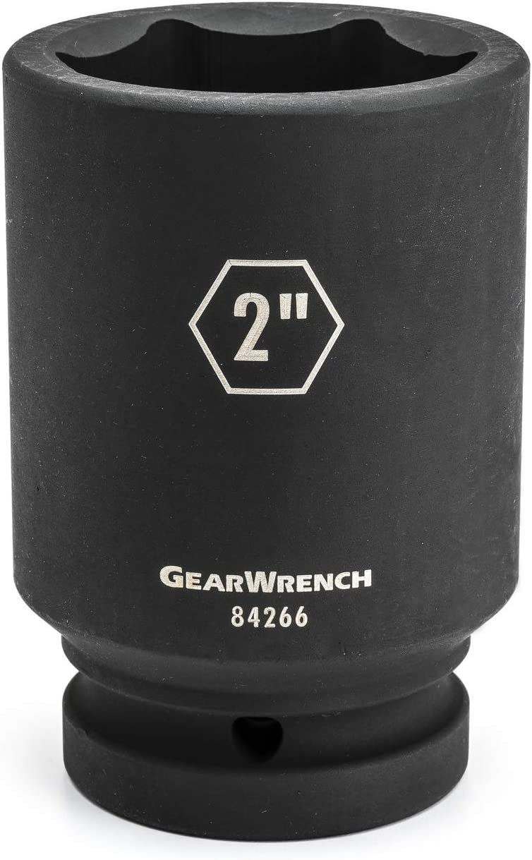 GEARWRENCH 1 Drive 6 Point Deep Impact SAE Socket 1-7//8-84264