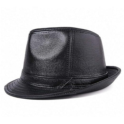 LERDBT Gorras de Plato Hombre Parte Sombreros Negro Traje Traje de ...