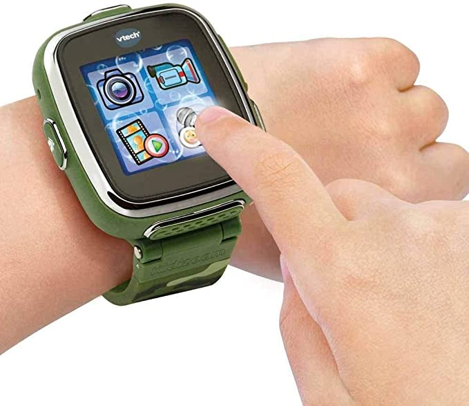 Amazon.com: VTech Kidizoom SmartWatch DX, Camuflaje ...