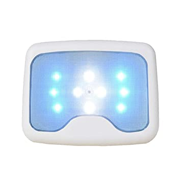 KOBWA 10 Luces LED para Techo de Coche, con Ventosa magnética, Fácil de Instalar