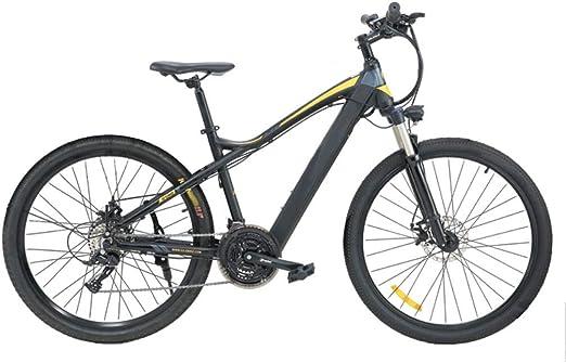 Batería de litio Stealth de 27.5 pulgadas Bicicleta eléctrica de montaña 27 velocidades Velocidad variable Larga distancia Bicicleta todoterreno Absorción de choque y comodidad - Versión de conducci: Amazon.es: Hogar