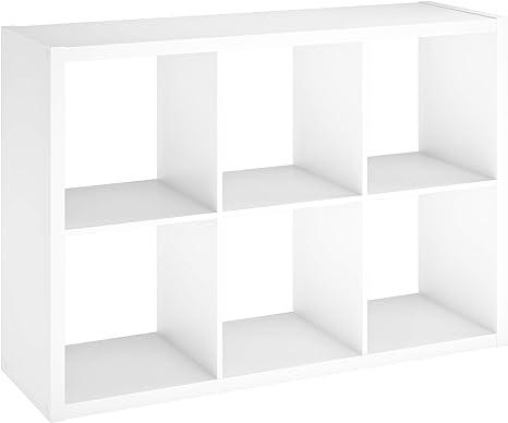 "New 6 Cube Organizer Storage Table Shelf 11/"" TV stand Bookcase Cabinet"
