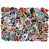 Diageng Random Styles Vinyl Stickers, 6 - 12cm (Pack of 100)