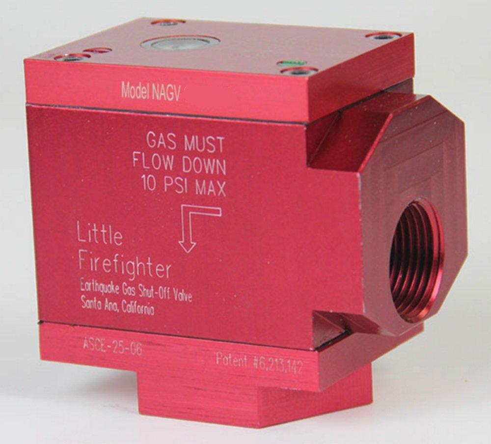 NAGV Series: Ninety-Degree Firefighter valves 1''