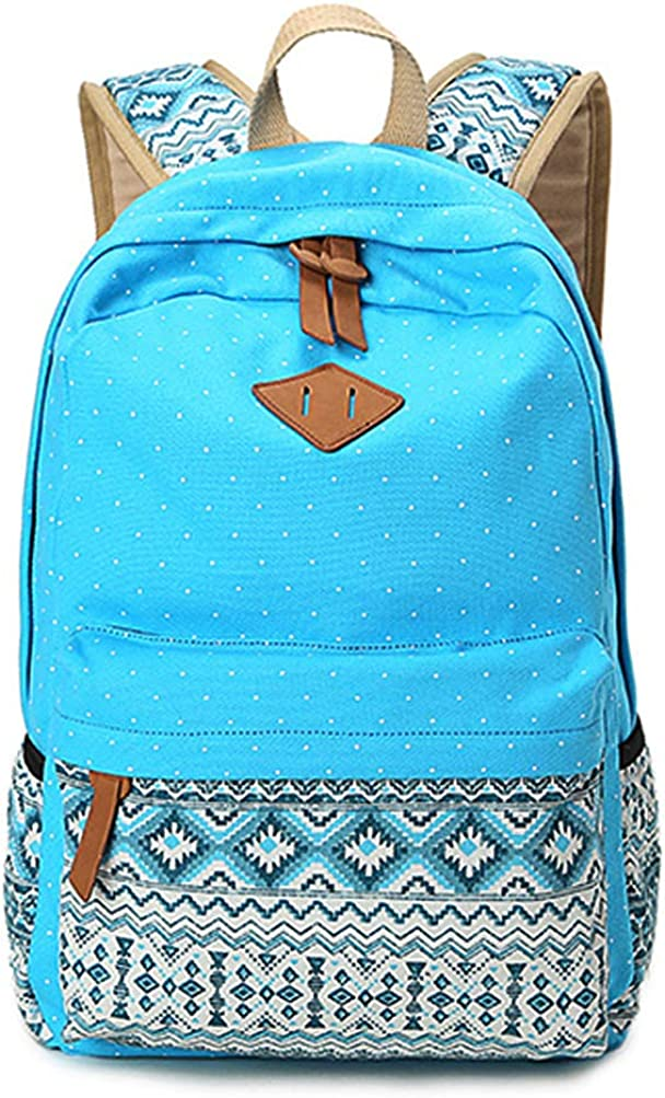 Cute Lightweight School Bookbag Bag for Young Student,Backpacks for Teen Girls Boys