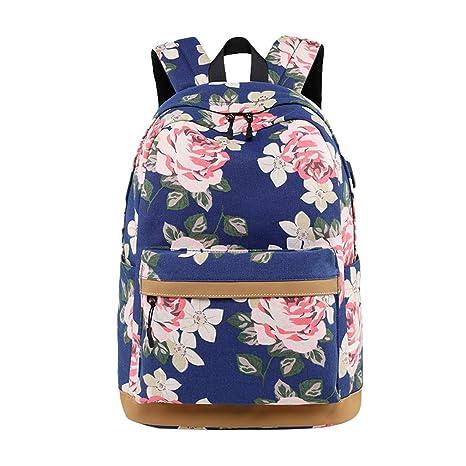 Mochilas Escolares Chenqi Mochila para niñas Adolescentes Mochila de Moda Informal: Amazon.es: Equipaje