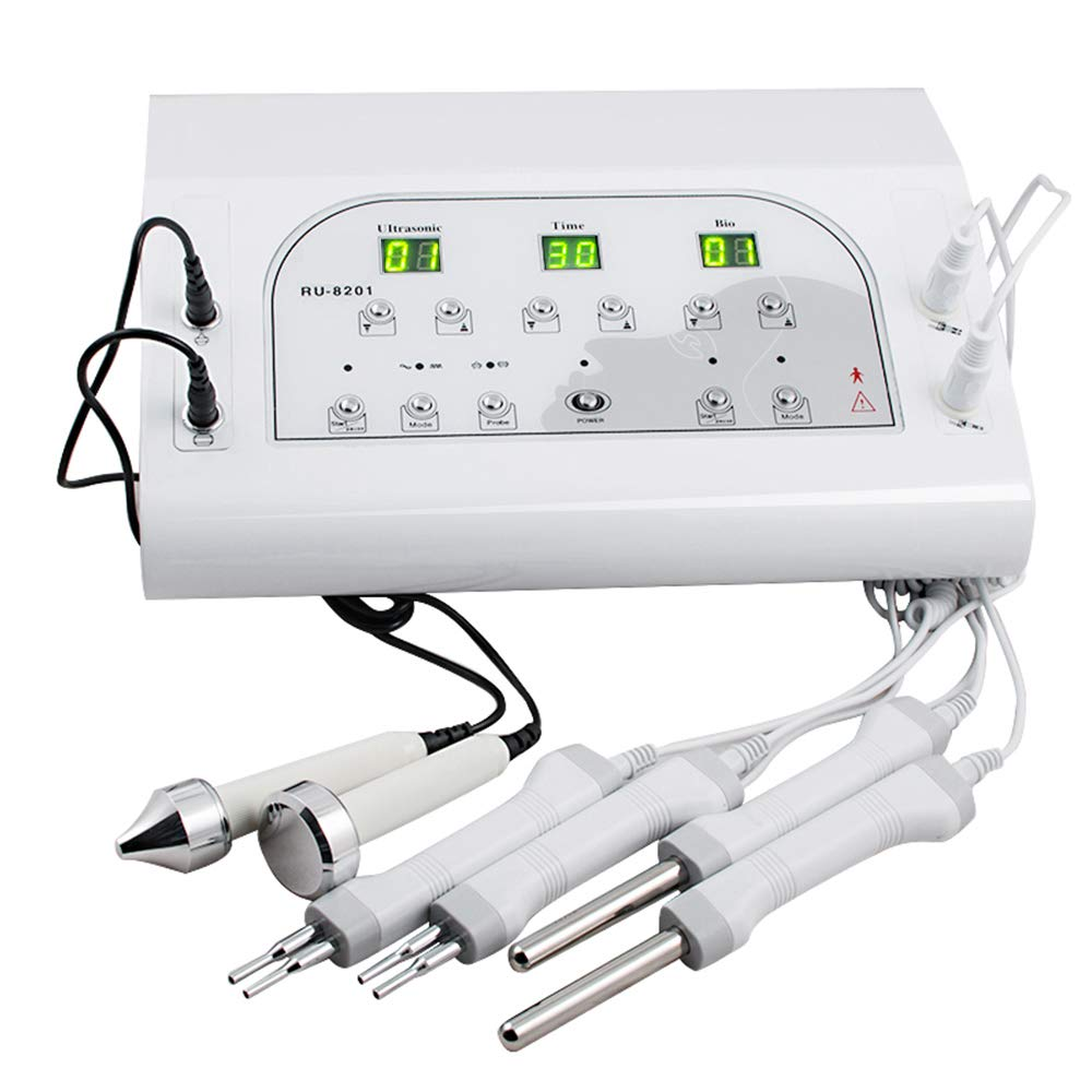 BIO Microcurrent Facial Spa Electrotherapy Beauty Skin Cared Machine 3MHZ USA Shipping by Pevor