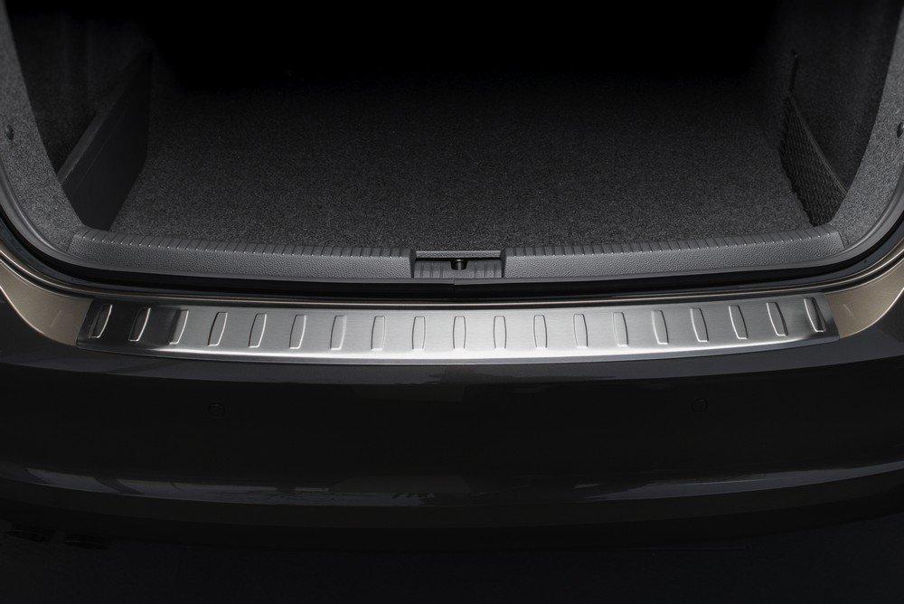 ZIC Motorsports Stainless Steel Rear Bumper Protector fits 2011-2014 Porsche Cayenne II