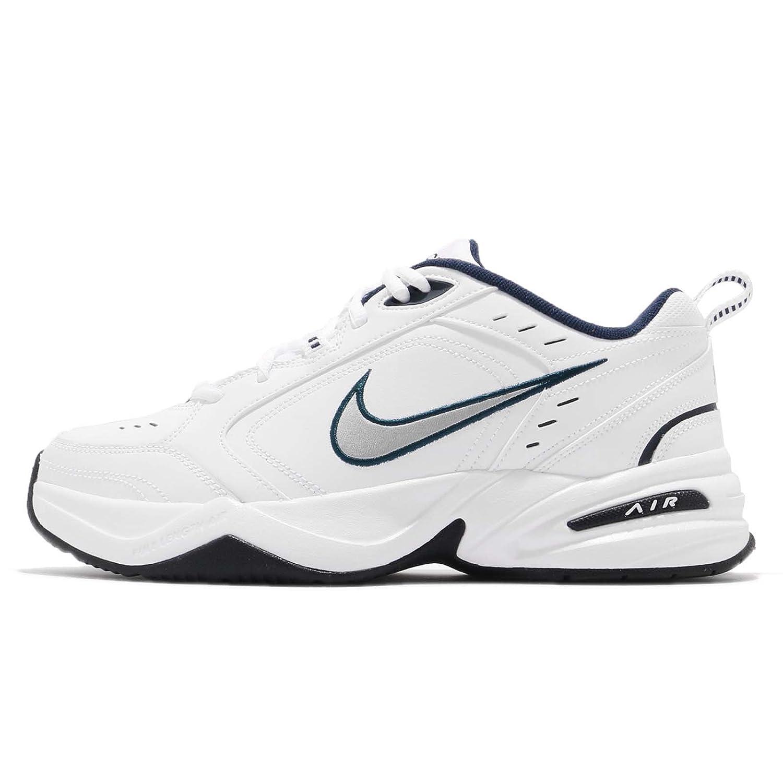 (ナイキ) エア モナーク IV 4 メンズ ランニング シューズ Nike Air Monarch IV 415445-102 [並行輸入品] B07DNCX6KH 25.5 cm White/Metallic Silver