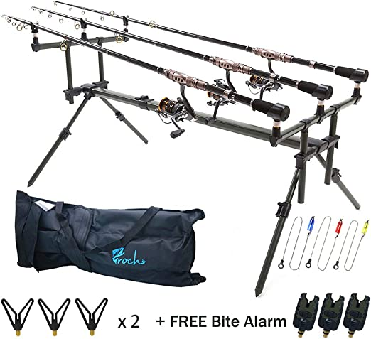 Croch Aluminium Carp Fishing Specialist Goal Post Style Rod Pod Fishing