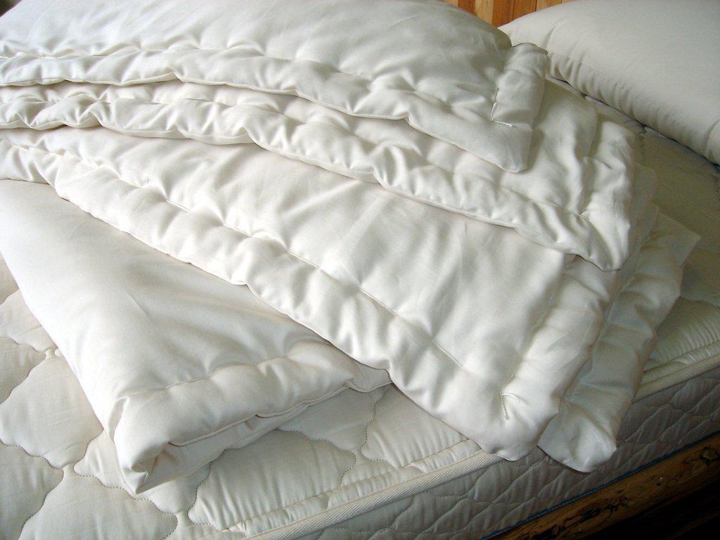 Holy Lamb Organics Cozy Buns Crib Baby Comforter