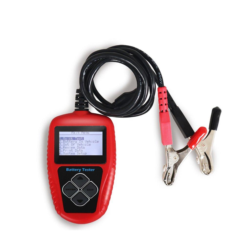 QUICKLYNKS BA101 100-2000 CCA 220AH 12V Car Battery Tester Analyzer Diagnost Tool 4333469679