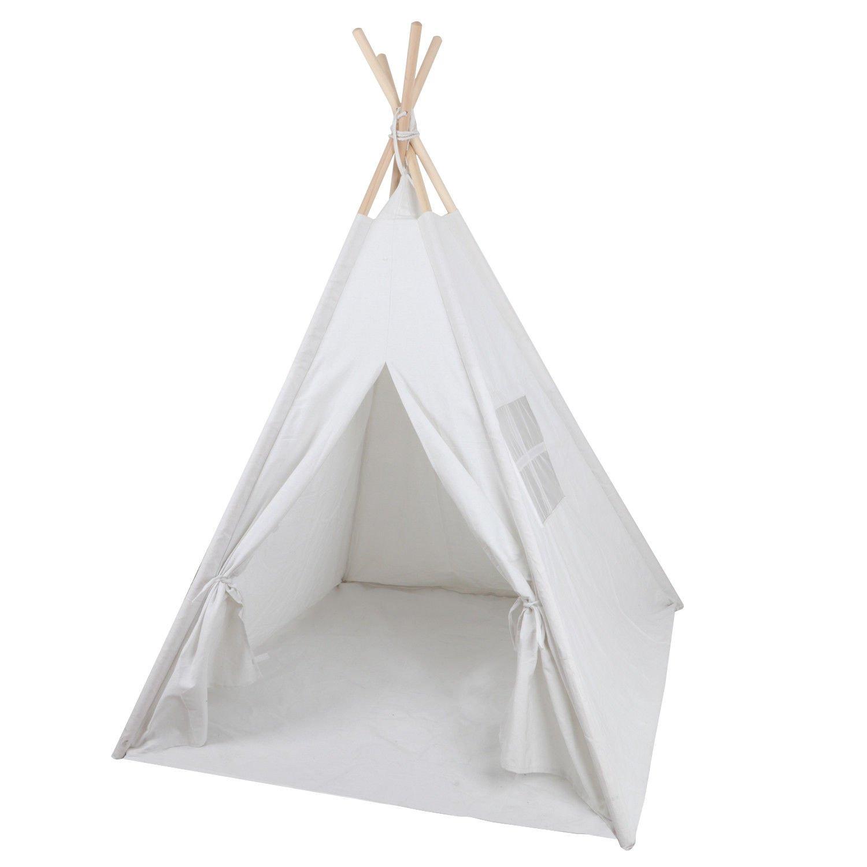 M2 Outlet キッズ ティピープレイテント 折りたたみ式 屋内屋外テント プレイハウス 幼児 子供 楽しい B07PQF5M55
