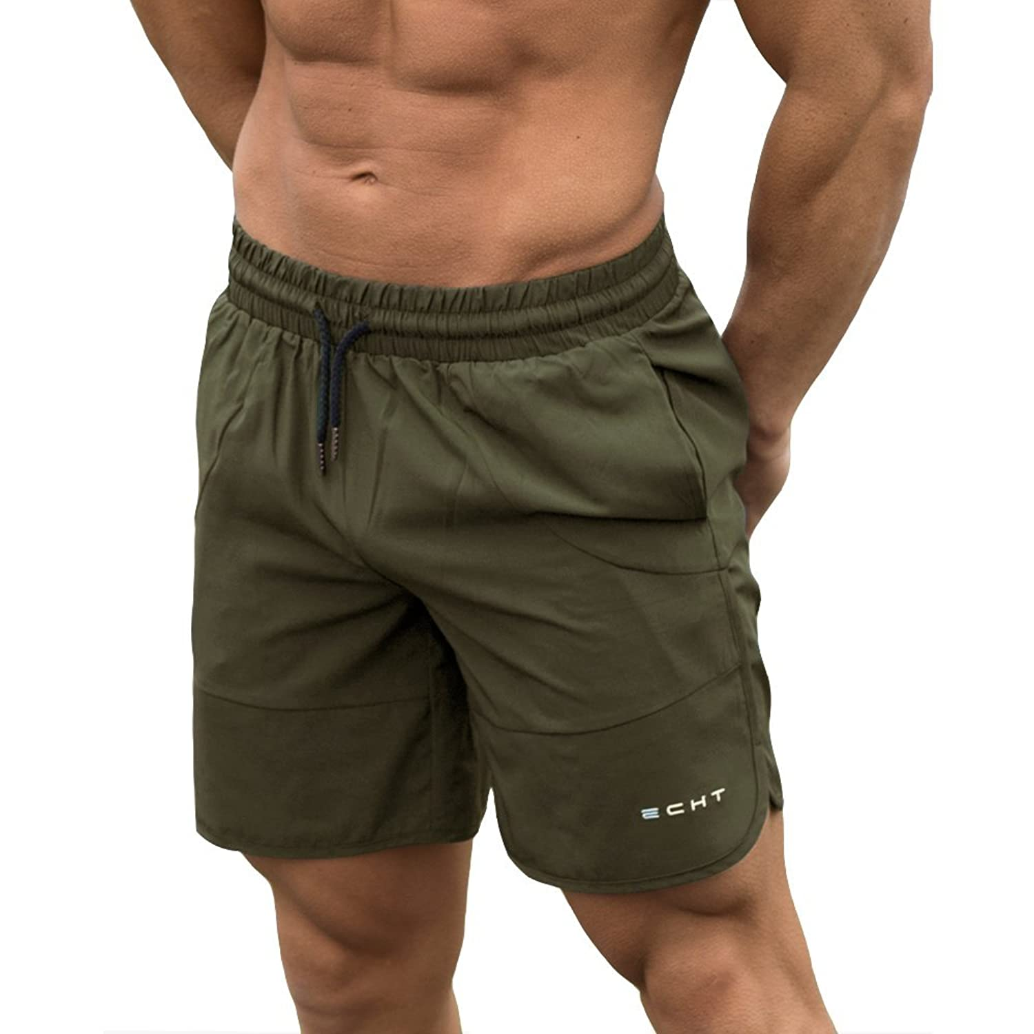169c391561be4 All items in store are Genuine ECHT Apparel. - 100% Quick Dry Polyester  Based Fabrication. Added Stretch for High Intensity Workouts