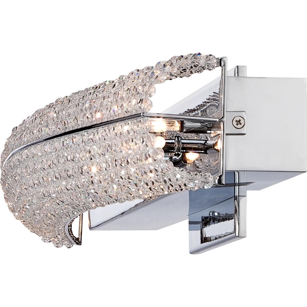 Quoizel eme8606c evermore 6 light bath light polished - Polished chrome bathroom lighting ...
