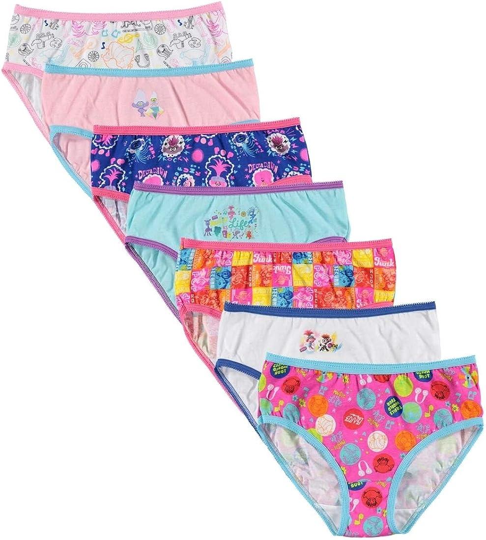 Dreamworks Girls Trolls 7 Pack Panties