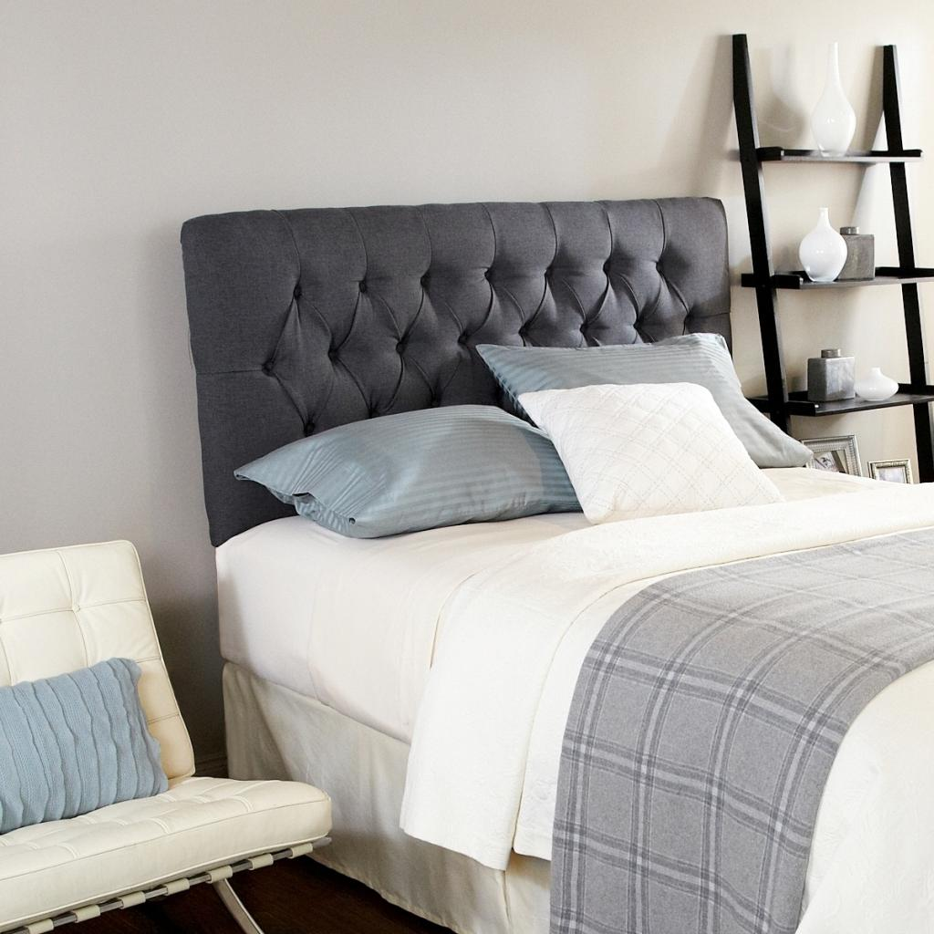Adjustable Queen Headboard : Humble haute ashford diamond tufted