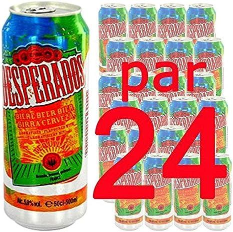 Biere Desperados 50cl X24 5 9 Amazon Fr Epicerie