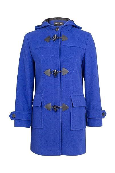 Duffle Mantel Crã¨me Winter De 38 Größe Kashmir Coat Wolleamp; 56aw13Königsblau48 La Königsblau Damen 1J3uK5TlFc