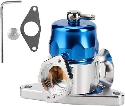 Blow Off Valve Car Black Dual Port Blow Off Valve Replacement Parts Fit For Subaru Wrx Sti Turbocharger Supercharger Parts Engines Engine Parts