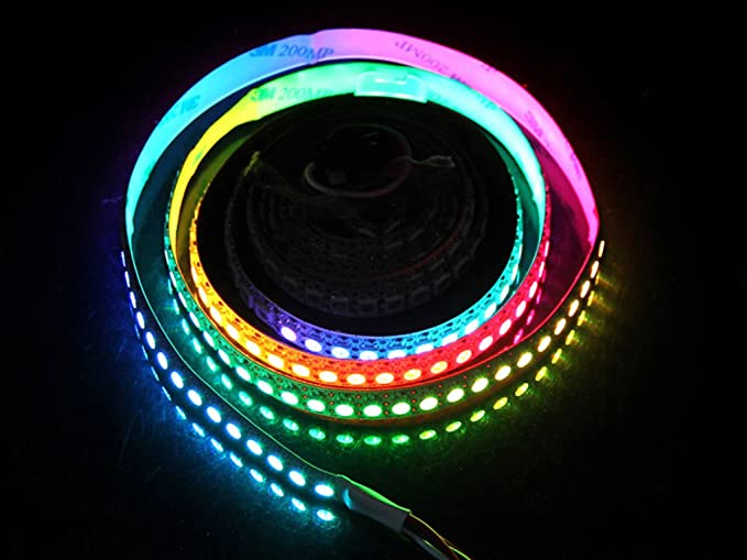 quality design 64c5c 99186 Cloud LED Ws2812B Digital Rgb LED Flexi-Strip 144 LED 1 ...