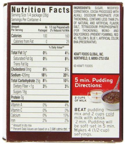 Amazon Jell O Chocolate Instant Pudding Mix 39 Ounce Box