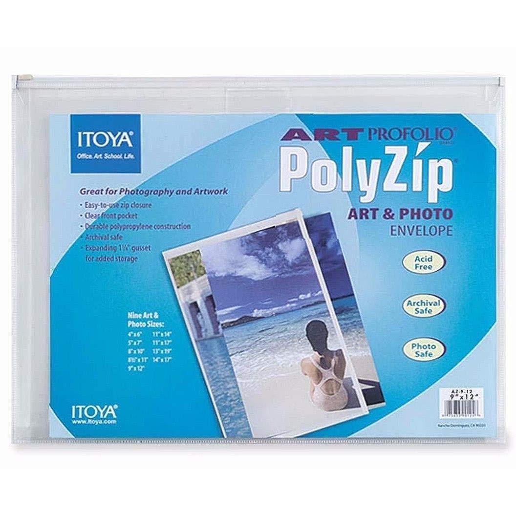 Itoya AZ-5-7 Art Profolio Polyzip Envelope - 5 X 7 In. 5x7  B004O7F2WQ
