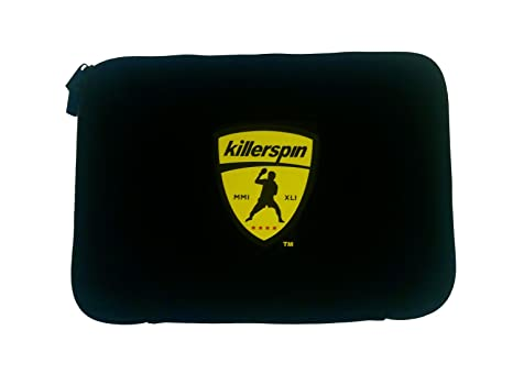 7d554a40ed4 Image Unavailable. Image not available for. Color  Killerspin Black Sleeve  Table Tennis Paddle Bag - Ping Pong ...