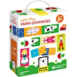Banana Panda - Let's Play Farm Dominoes - Classic Kids Game with Three Ways to Play for Ages 2 Years and Up