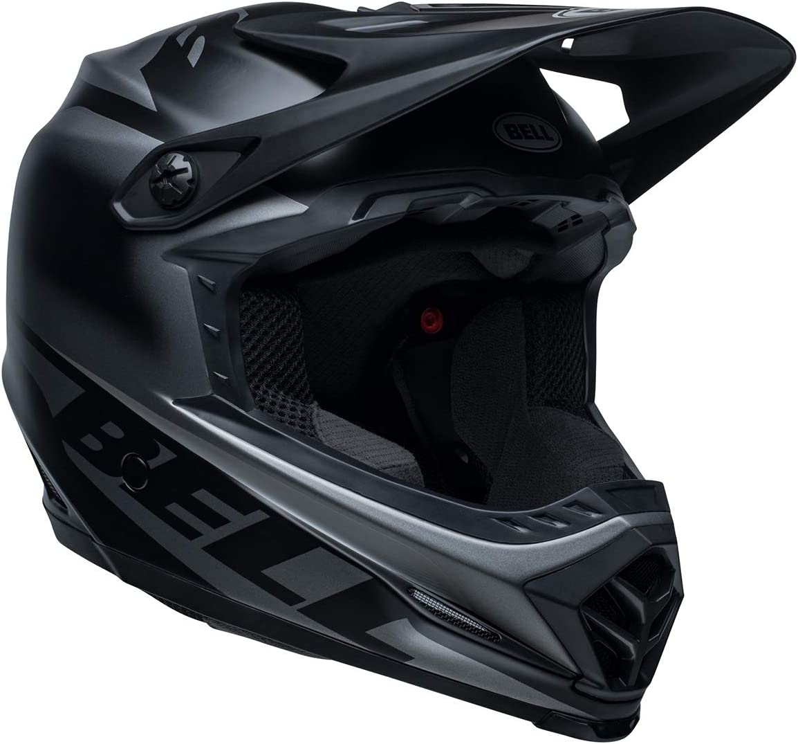 Bell Moto-9 MIPS Youth Motorcycle Helmet Fasthouse Matte Black//White, Large//X-Large