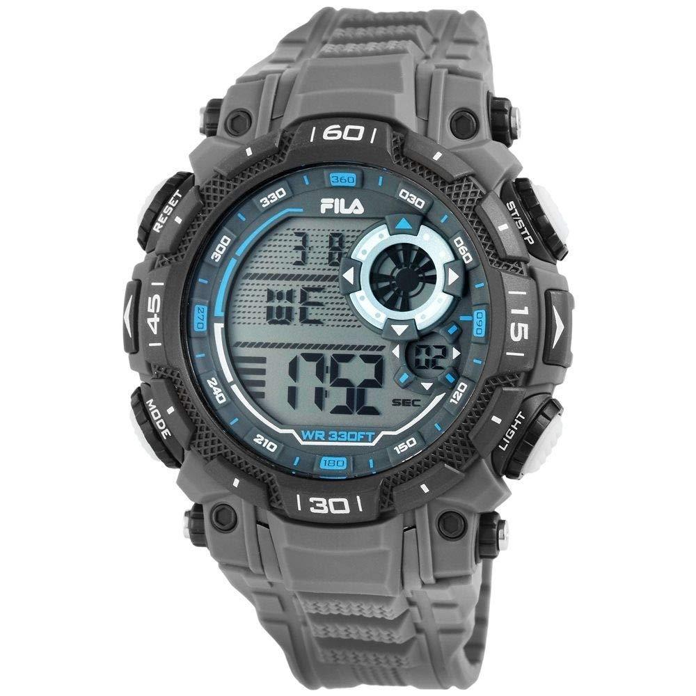 Fila Reloj Digital para Unisex Adultos de Cuarzo con Correa en PU FILA38-826-004
